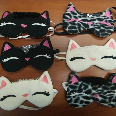 Kitty Sleep Masks multicolored